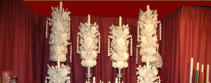 Velas rizadas ceriarco cera y artesan a cofrade - Transferir fotos a velas ...